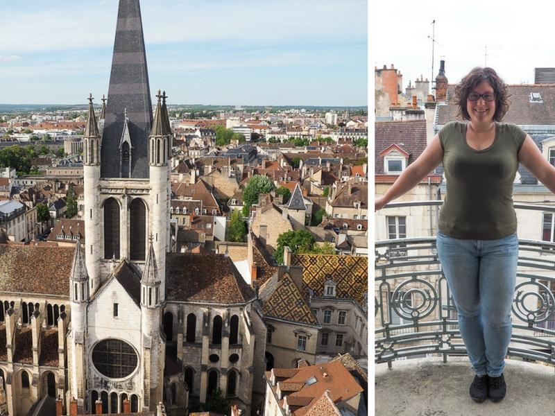 Dijon, capitale de la Bourgogne, en France.