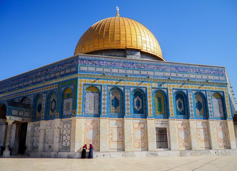 Mont du Temple à Jerusalem.