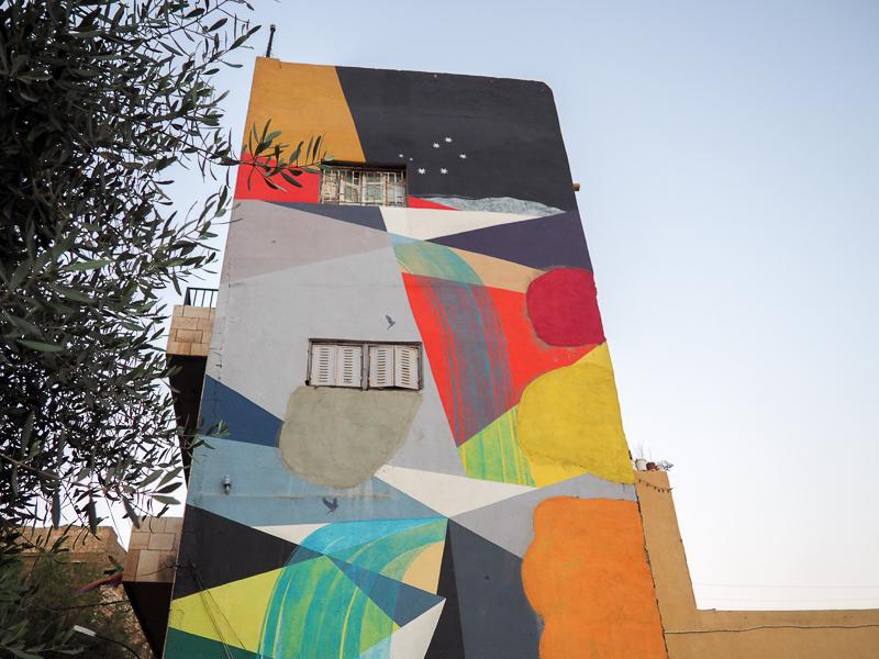 Street Art à Amman.