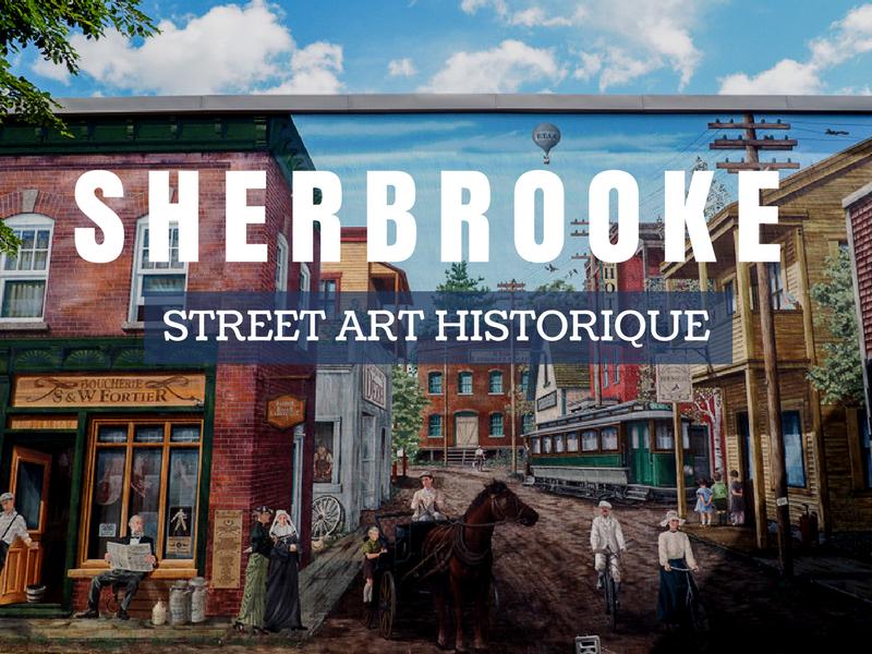 Street Art au centre-ville de Sherbrooke