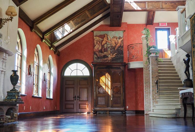 Salle de réception du vignoble Ste-Agnès