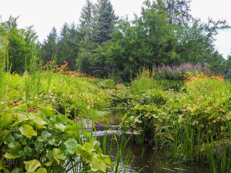 Jardin botanique du Nouveau-Brunswick à Edmundston