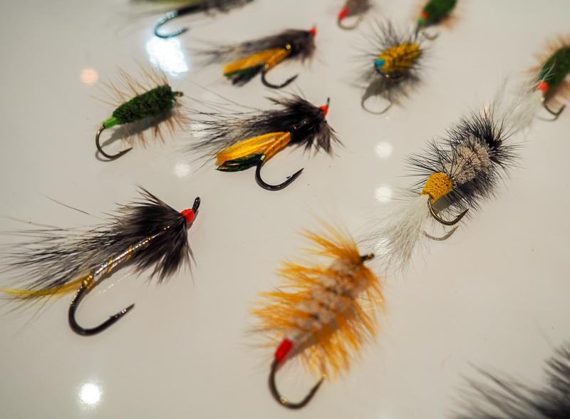 Mouches à pêche professionnelles à Campbellton