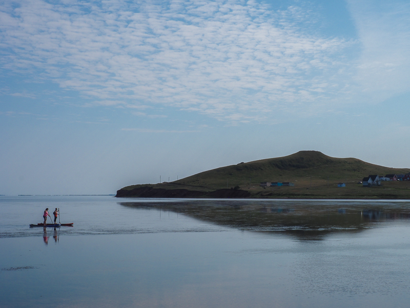 Paysage en Paddle Board dans la Petite Baie