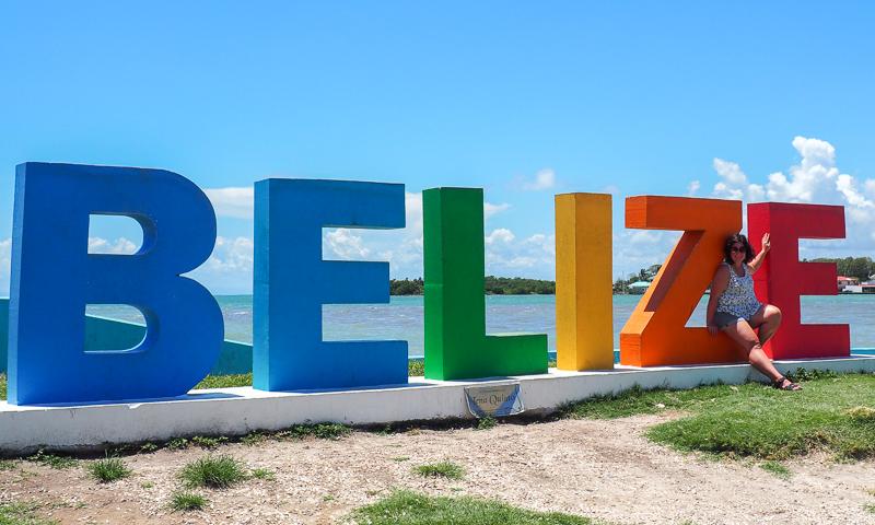 Signe Belize City, dans la capitale du pays