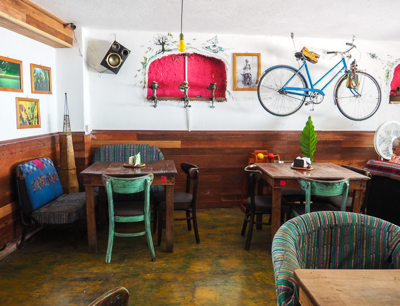 Restaurant San Telmo à Flores, l'endroit pour faire le plein de légumes!
