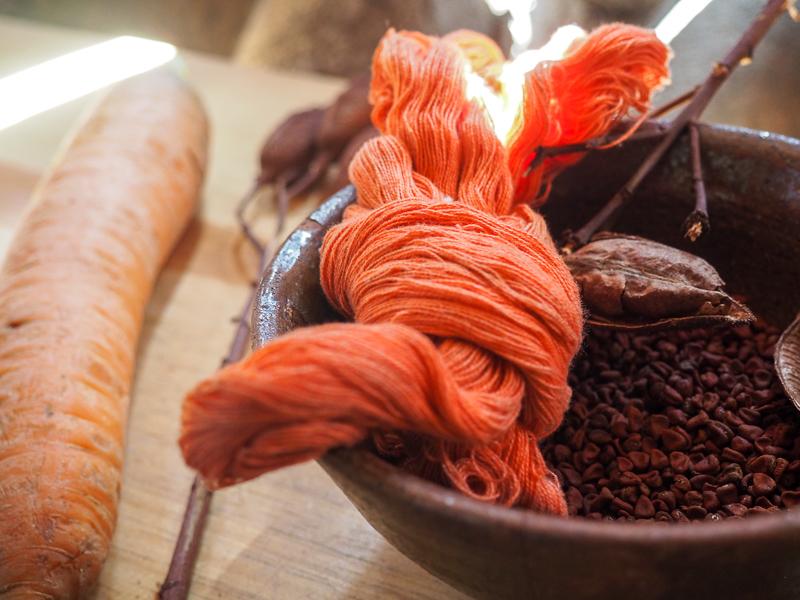 Teinture traditionnelle pour tissa, Atitlan