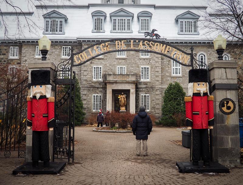 Marché de Noël au Collège de L'Assomption