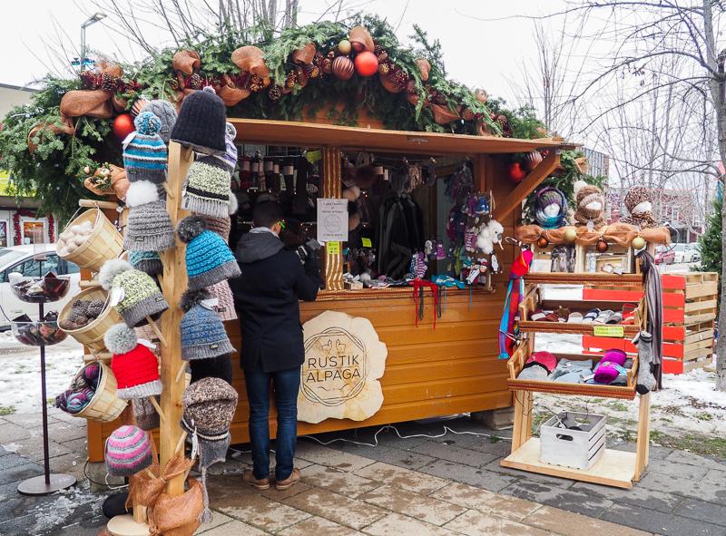 Artisans au marché de Noël de Lanaudière