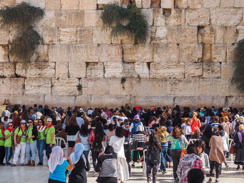 Mur des lamentations à Jerusalem