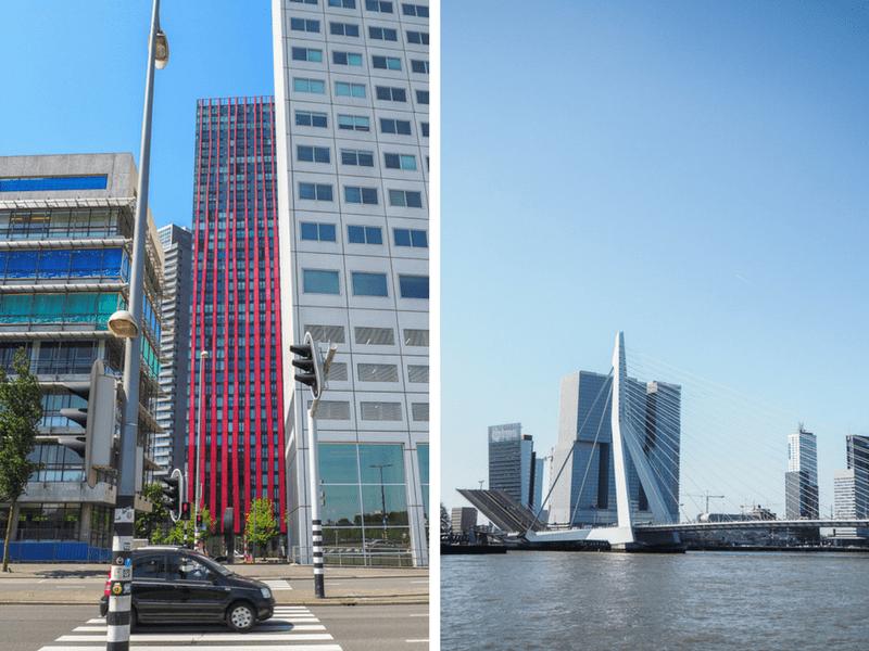 Pont Erasmus à Rotterdam