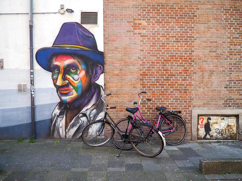 Portrait de l'art de rue à Rotterdam