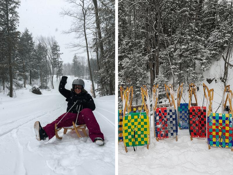 La luge alpine, un sport de glisse originale à pratiquer en hiver à la Vallée du Parc