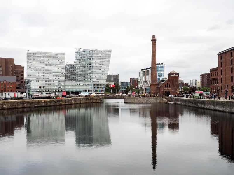 Le Albert Dock, l'endroit le plus visité de Liverpool par les touristes.