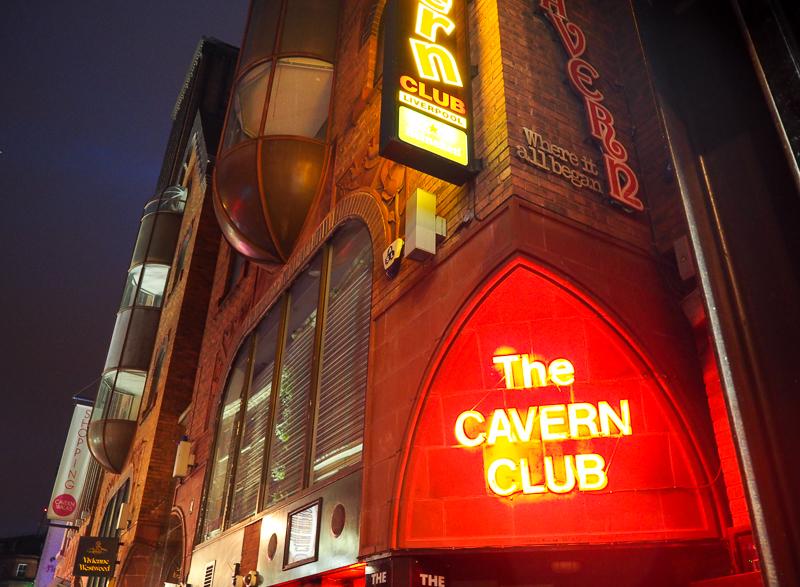 Le mythique Cavern Club de Liverpool