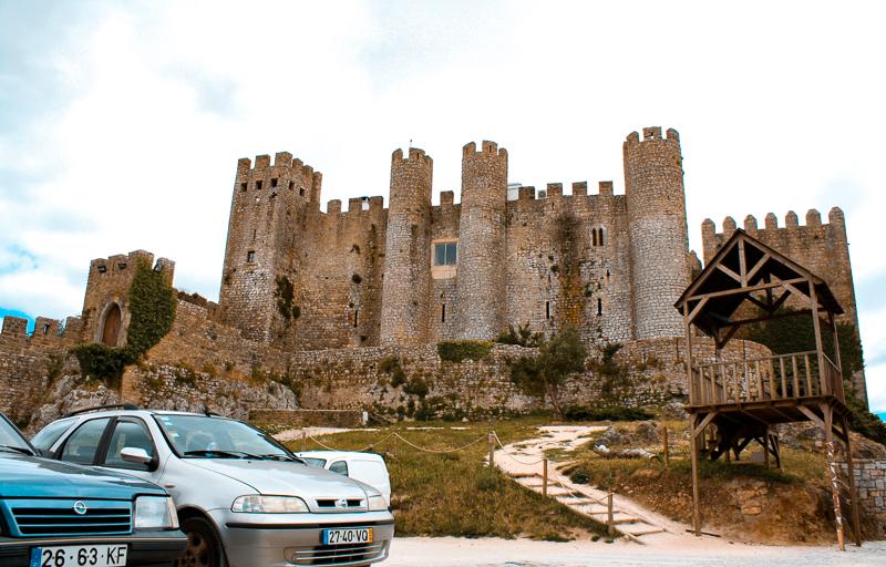 Château d'Obidos au Portugal