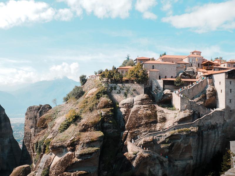 Great Meteoro - le plus grand monastère de la région de Meteora