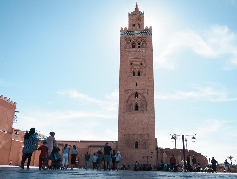 Minaret de la Koutoubia, emblème de Marrakech