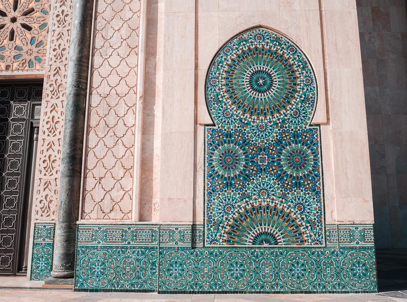 Fontaine à la mosquée de Casablanca