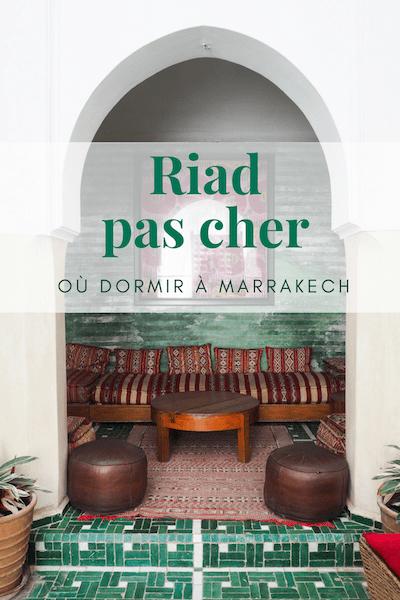 J'ai trouvé un riad vraiment pas cher est parfait en plein coeur de la médina de Marrakech. Si vous chercher où dormir lors de votre prochain voyage au Maroc. #Riad #Maroc #Marrakech