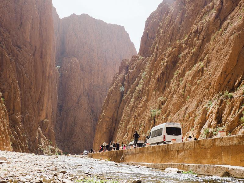 Randonnée dans les gorges de Toudra au Maroc