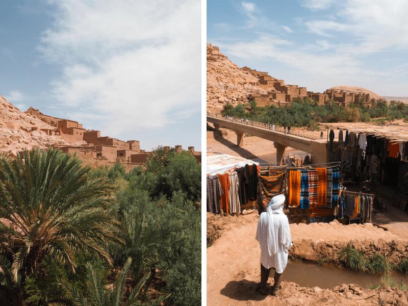 Visite de la kasbah Aït-Ben-Haddou, où plusieurs films ont été tournés.