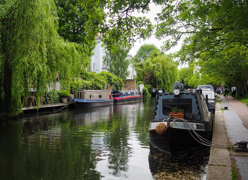 Le Regent's Canal donne des airs d'Amsterdam à Londres
