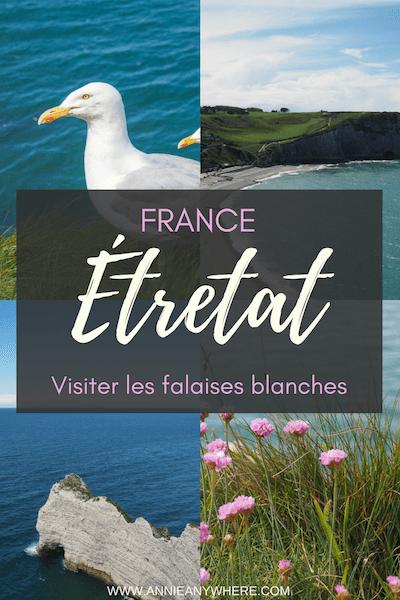 Les falaises d'Étretat sont à voir absolument lors d'un voyage en Normandie. J'y ai terminé mon voyage en France afin de finir sur une note nature à quelques heures de Paris. Cliquez pour savoir quoi faire à Étretat!