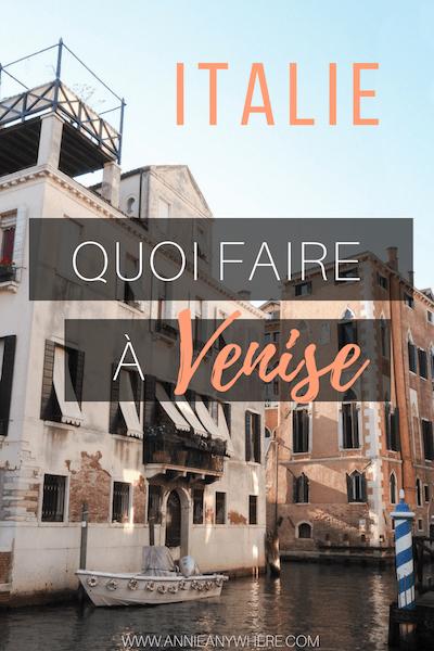 Venise se découvre par les quartiers les moins connus. Cette ville d'Italie est bondée de touristes, mais ce n'est pas une raison pour la bouder. Suives ces quelques idées pour explorer Venise autrement et passer de belles vacances en Italie. #Italie