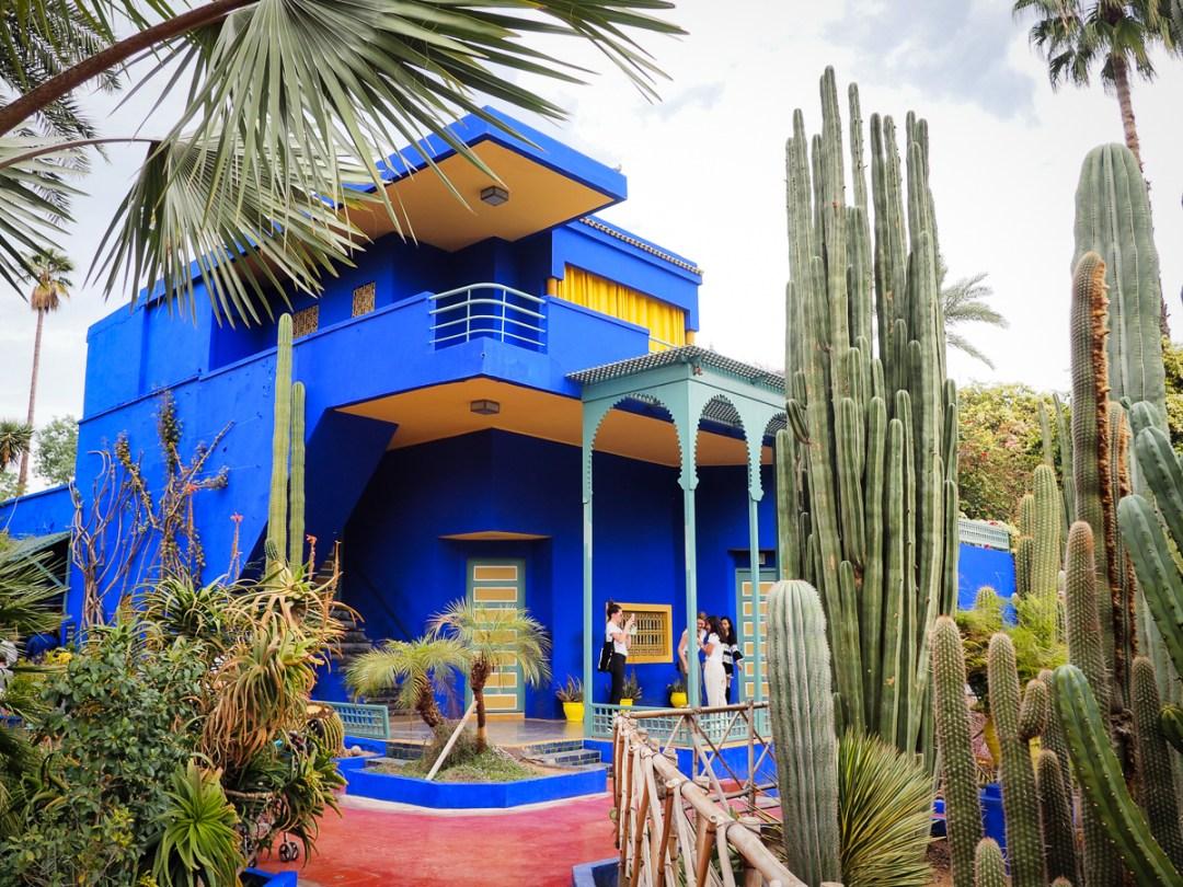 Pavillon bleu au Jardin Majorelle