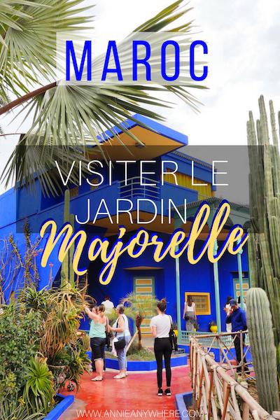 En voyage au Maroc? La visite du Jardin Majorelle est un incontournable à Marrakech. Pour vous échapper de la ville et relaxer dans un décor digne des plus belles photos Instagram, direction le Jardin Majorelle!