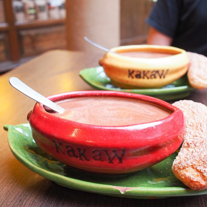 Chocolat chaut au musée Kakaw de San Cristobal de las Casas