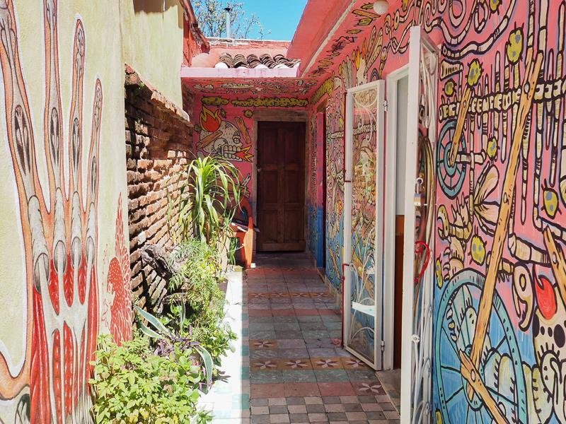 Galerie d'art visitée lors du Free Walking Tour de San Cristobal de las Casas