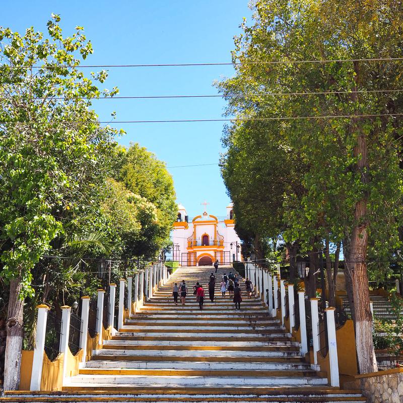 Iglesia de la  Guadalupe À San Cristobal de las Casas au Mexique