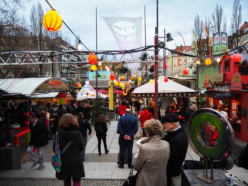 Marché de Noël des artisans de Schwabing à Munich