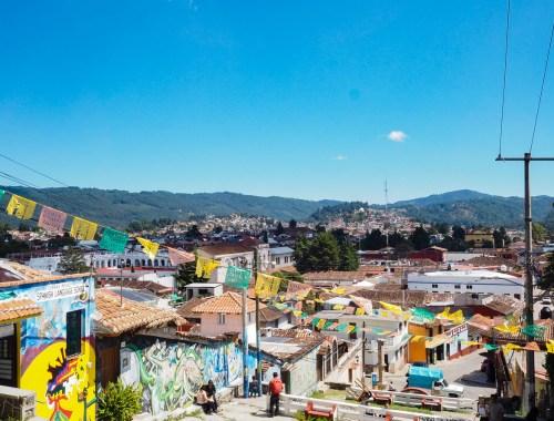 Vue panoramique de San Cristobal de las Casas