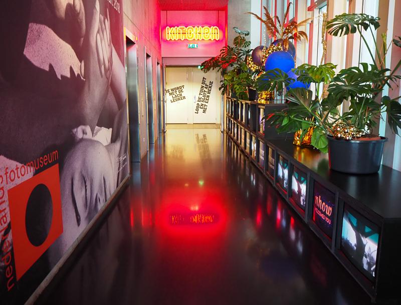 Restaurant de l'hôtel nhow à Rotterdam au Pays-Bas