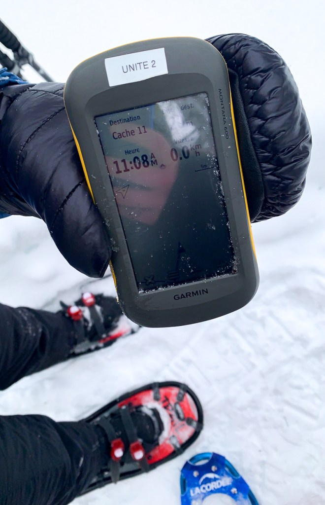 Rallye GPS au parc régional des Grandes-Coulées près de Victoriaville