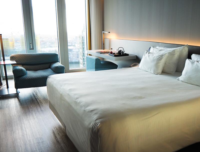 Chambre de l'hôtel nhow Rotterdam