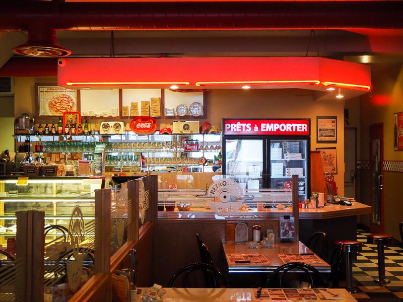 Restaurant Rétro Pop de Plessisvile