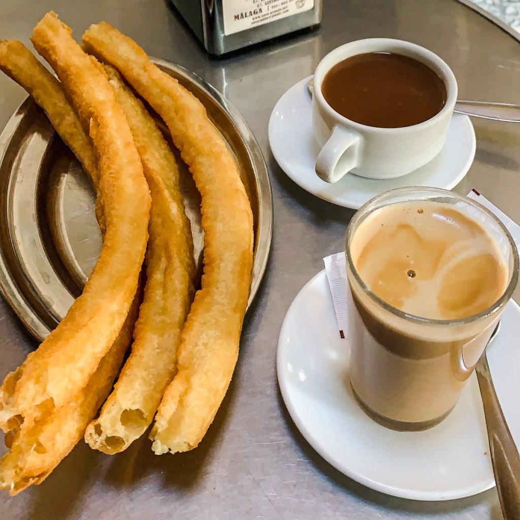 Que faire à Malaga? Manger des churros à la Casa Aranda