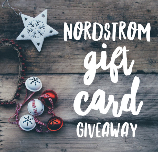 nordstrom gift card christmas giveaway - Nordstrom Christmas Eve Hours