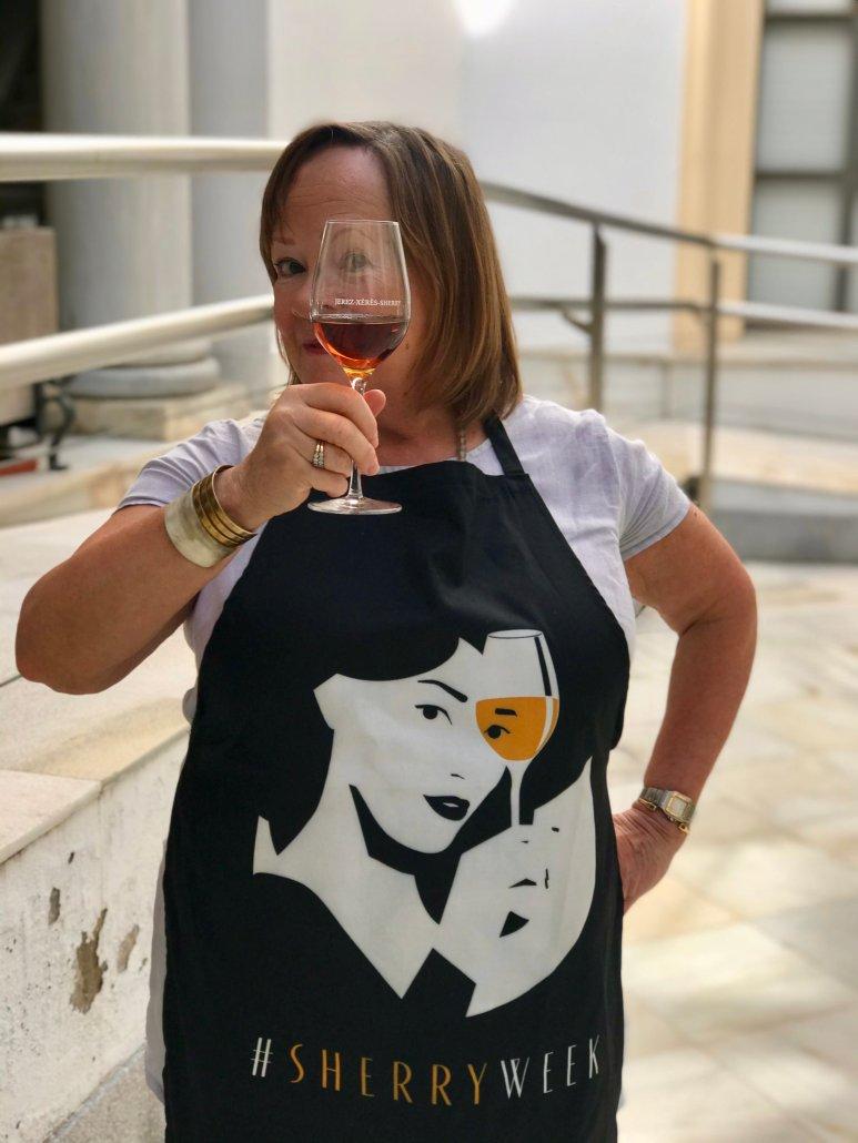 Annie B at Sherry Week
