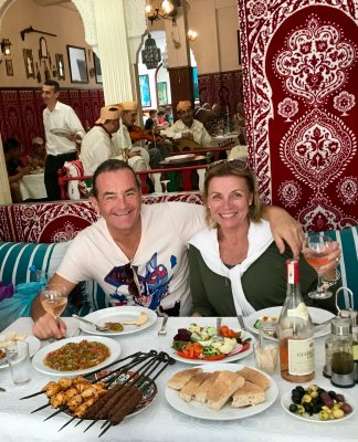Lunch in Tangiers