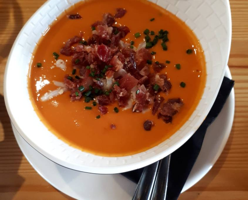 Salmorejo - a cold Spanish Soup