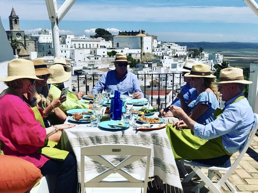 Spanish cooking holiday