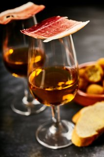 sherry and jamon