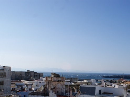 view of morocco from tarifa