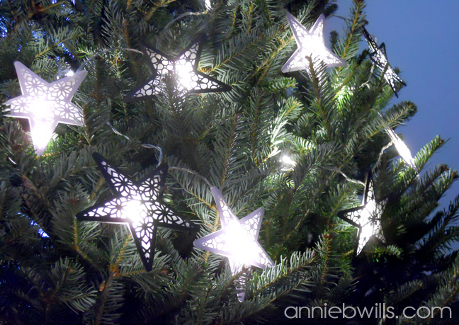 Starlight Garland by Annie Williams - Tree