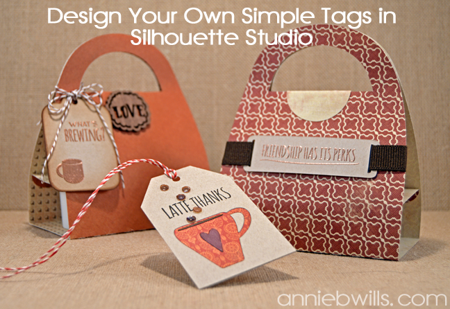 Designing Simple Tag Shapes in Silhouette Studio by Annie Williams - Main